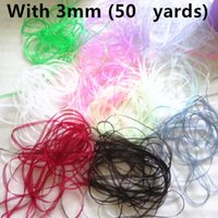Wholesale SALE mm yards Solid Color Organza Ribbon Packing mix color bow celebration Christmas wedding decoration DIY Materials Tape colors