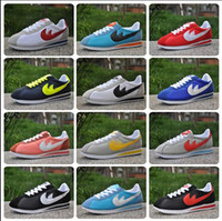 Wholesale Hot new brands Casual Shoes men and women cortez shoes leisure Shells shoes Leather fashion outdoor Sneakers size
