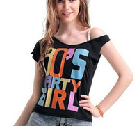 adult dress t shirts - Adult Pink Sexy I Love The s Retro T Shirt Fancy Dress Party Costume Ladies