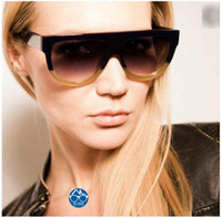 american goggles - Hot European and American fashion personality rivet cat eye sunglasses sunglasses female foreign trade wild street shooting glasses