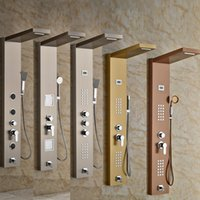 best shower panels - Multiple Types Best Quality Bathroom Shower Panel with Hand Shower Wall Mounted