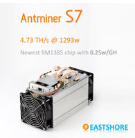 asic miner - hot second hand not new Bitcoin Miner Antminer S7 TH Asic Miner GH Newest Btc Miner Better Than Antminer S5