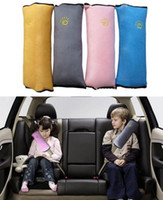 Wholesale Child safety shoulder pillow Cushion Kids Harness Car Safety Seat Belt Cover Dampen Sleep Pillows colors