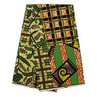 Wholesale B9 Cotton African farbic super wax hollandais fabric Nigerian ankara style for clothing fabric