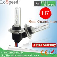 Wholesale 50 Pairs High Quality Ceramic H7 W K K K HID Xenon Car Lamps Xenon Blub with Ceramic Base for AUTO HEAD LAMP