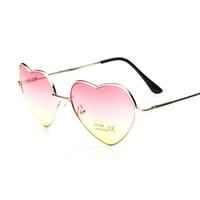 Wholesale Fedex DHL Free Fashion Sunglasses Summer Glasses Women Girl Love Heart Shape Sunglasses Tide Beach Sunglasses Women Best Gift L144