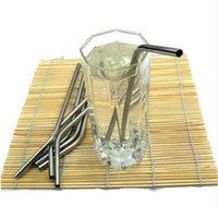Wholesale 270mm Long Stainless Steel Drinking Straws Fits Oz Oz Cups Happy Gifts Drinking Sucker High Quality