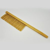Wholesale Beekeeping equipement Wooden Bee brush for beekeeper tool cleaning double row bee bristle brush bristle or horsehair bee brush