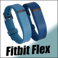 Wholesale 2016 Newest Replacement Wrist Strap Fitbit Flex Band With Clasp Wireless Activity Bracelet Wristband With Metal Clasp for Replacement Wrist