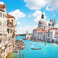 architecture backgrounds - Custom Photo Wallpaper Venice D Stereo Large Mural Wall paper Bedroom Living Room TV Background Wallpaper European Architecture