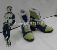 Wholesale Custom made Dramatical Murder Dmmd Noiz Cosplay shoes Green Short boots