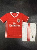 Wholesale Thail quality Kids uniforms benficas bilbaos porto KIDS sets jerseys shorts more than set shipping with DHL
