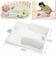 baby pillow prevent flat head - Baby Infant Newborn Anti Roll Pillow Sleep Positioner Prevent Flat Head Cushion Baby Pillow Massager Bedding