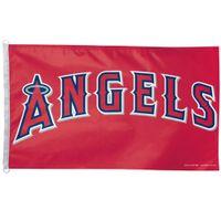 angeles hole - Los Angeles Angels Flag x FT MLB Banner brass metal holes Flag Size No cm Custom flag