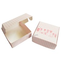 Wholesale DIY cardboard Favors Handmade Soap Box Folded Gift Package Party Candy Boxes pink LWB0366P
