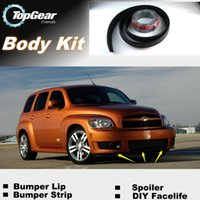 Wholesale For Chevrolet HHR Bumper Lip Lips Front Skirt Deflector Spoiler For Car Tuning The Stig Recommend Body Kit Strip