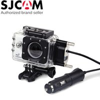 Wholesale SJCAM Brand Motorcycle Waterproof Case for Original SJCAM SJ5000 Series for SJ4000 Series Charging Case for SJ5000 Plus WiFi