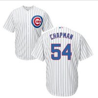 aroldis chapman - Men s Chicago Cubs Jersey Aroldis Chapman Blue White Jersey Kris Bryant Anthony Rizzo Cool Base Jersey Cheap Baseball Jerseys