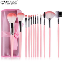 Wholesale Makeup brush sets beginner makeup brush Kit brush pen barrel storage Beauty makeup tool full set
