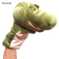 Wholesale Niosung New Arrival plush Cute animals finger puppet doll full body hand puppet toys Kids Baby Christmas Birthday Gift