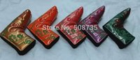 Wholesale New Style High Quality Golf Putter Cover with Gekko Pattern
