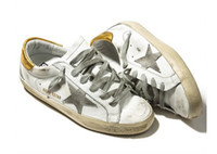 antique silver finish - taly Brand Golden Goose Superstar Casual Shoes Antique Finish Men Women Low Cut Fashion GGDB Shoes ORIGINAL Invisible Increasing