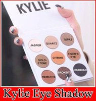 Wholesale 2016 new kylie Kyshadow pressed powder eye shadow palette the Bronze Palette Kyshadow Kit Kylie Cosmetic colors DHL free