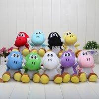 Wholesale Super Mario inch colors Super Mario Bros Goomba with Tanooki Tail Plush Doll yoshi multicolor