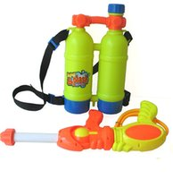 Wholesale 2016 Rushed Beach Toy Backpack Nozzle Water Gun with Bottle Pack Plastic Material with Ce International Standard Certificate