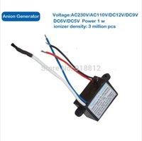 Wholesale 10pcs DC5V Output kv ionizer densisty h m ozone ppm USB negative generator