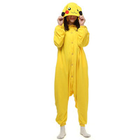 Wholesale Japen Kigurumi Pajamas Adult Pikachu Sleepwear Cosplay Christmas Halloween Costume Gift Present Onesies Party Jumpsuit