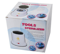 Wholesale High Temperature sterilizer pot nail art equipment nail tools disinfection nail box Nail sterilizer tools antisepsis