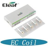 100% Bobine de bobine en céramique Eleaf EC d'origine pour bobines de rechange Eleel iJust 2 mini Melo Atomizer DHL gratuitement