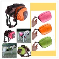 Wholesale Pet travel Foldable Color between large dog bag from the Backpack Camel food package perros products for animals