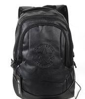 ancient backpack - HOT Fashion Tender Waterproof PU Leather Bags Restore Ancient Ways Travel Backpack Bag Black Men High School Students