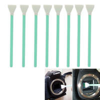 Wholesale 8PCS Wet Dry CCD CMOS Swab Sensor Cleaning Cleaner For APS frame DSLR Camera