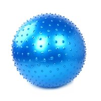 Wholesale Hot Sales Fitness Massage Yoga Ball Point Message Environmental Protection PVC Body building Tool Exercise Pilates Ball MD0034