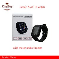 altimeter gps - u8 smart watches Bluetooth U8 Smartwatch Wrist Watches With Altimeter For iPhone Samsung S6 Note HTC Android Phone free DHL