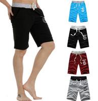 Wholesale NEW Men s Cotton Shorts Pants Gym Trousers Sport Jogging Trousers Casual
