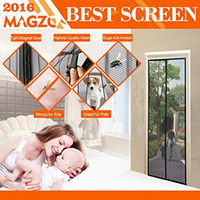 Wholesale Magnetic Screen Door Fits x Inch Door Max Screen Door Curtain x Inch By MAGZO Lets Fresh Air In Black Magnetic Curtain Keeps