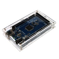 Wholesale Great Little Transparent Acrylic Protective Case for Arduino MEGA2560 R3 DIY Module Board Demoboard Shell
