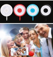 Wholesale Universal RK11 LED Selfie Flash Light Fill Light for iPhone Smartphone i5 i6 Running iOS Android Phone