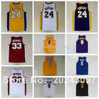 Wholesale Top Quality Kobe Kobe Bryant Jersey throwback Bryant High School USA dream team stitched jerseys