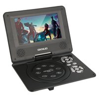 Wholesale 2016 newest inch Mini Portable Rechargeable DVD Player with Swivel Screen Car Travel