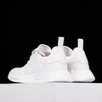 athletic wear brands - NMD Running Shoes Boost Perfect Primeknit White Shoes Sneakers Cheap Sneakers Brand NMD Athletic Shoes Hot Sale NMD Runner Primeknit Wears