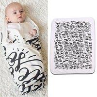 Wholesale 2016 pieces Toddler Kids Newborn Baby Blanket Swaddle Sleeping Bag Sleepsack Stroller Wrap