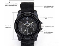 Unisex best modern bands - Gemius Army Mens Watches Army Racing Force Military Sport For Men Fabric Band Knight Watch Sports Canvas Gemius army Watches Best quality