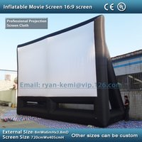 Wholesale x6m giant inflatable movie screen inflatable projection movie screen inflatable film screen
