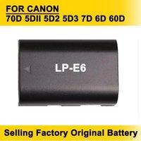 Wholesale Hot Sellling LP E6 LP E6 Camera Battery Batteries for Canon D DII D2 D3 D D D