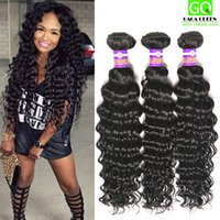 elites hair - 4Bundles Brazilian Deep Curly Wave Hair Weaves Elites Hair Products Virgin Brazilian Human Hair Bundles Mink Brazilain Virgin Hair Deep Wave